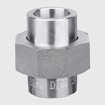 Stainless Steel Socket Weld Union